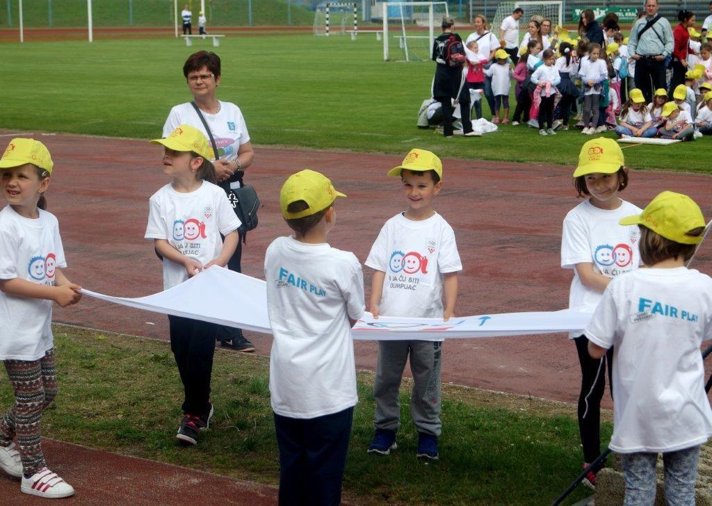 Olimpijski festival dječjih vrtića Međimurja 2017