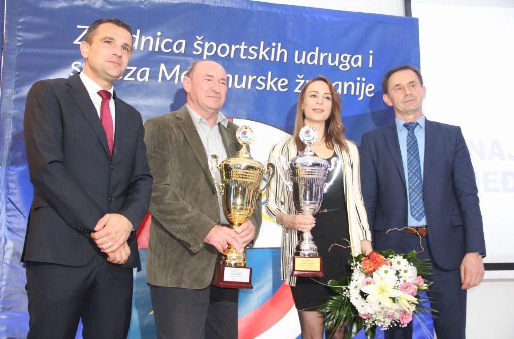 Tijana Korent i Alan Perko najbolji sportaši Međimurja u 2019. godini