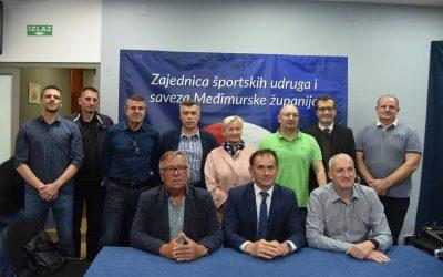 Mato Kljajić i sljedeće četiri godine na čelu županijske sportske Zajednice