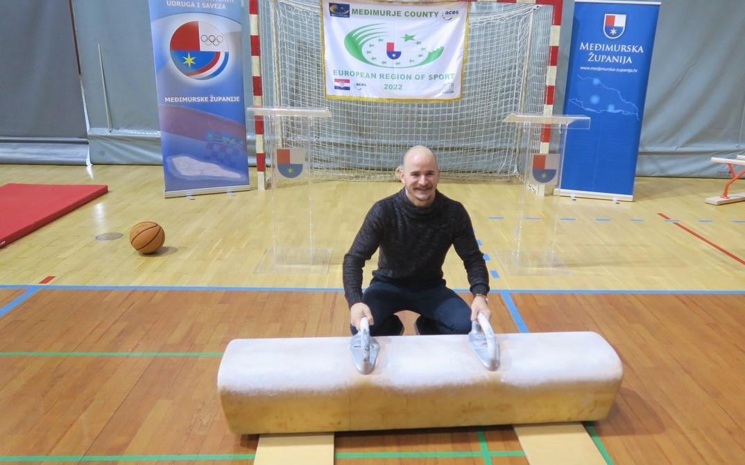 Filip Ude ambasador Međimurja kao Europske regije sporta