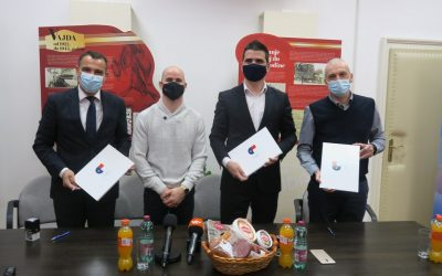 Mesna industrija Vajda prvi je partner projekta Međimurje – Europska regija sporta 2022.