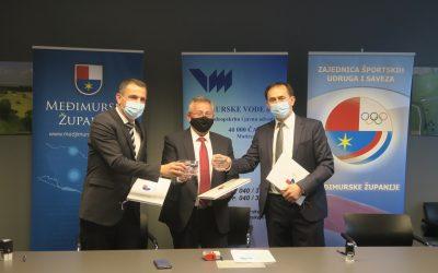 Međimurske vode postale dio projekta Međimurje – Europska regija sporta za 2022.